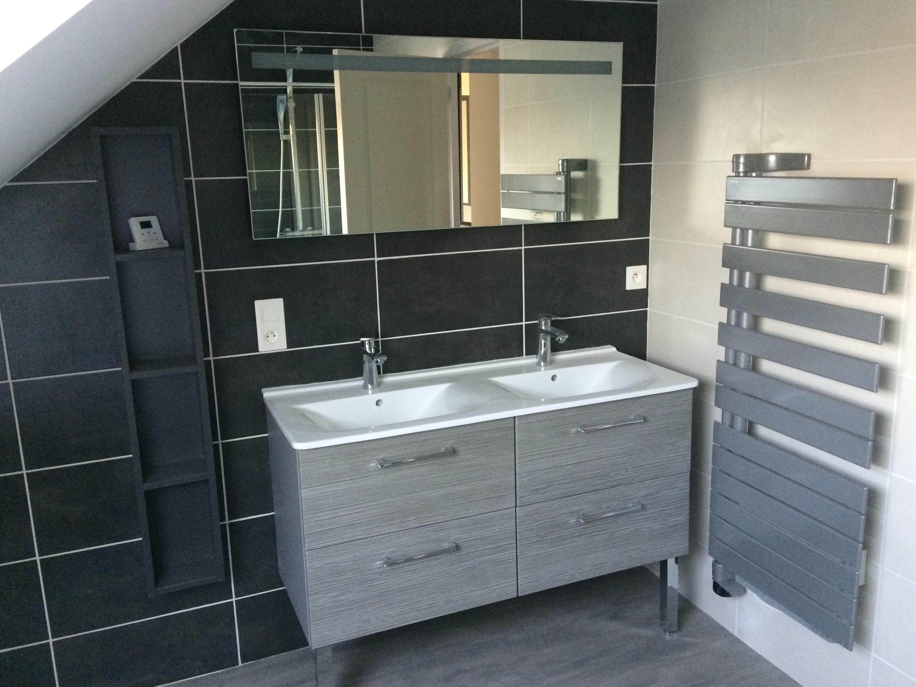 salle de bain noveo habitat. Black Bedroom Furniture Sets. Home Design Ideas